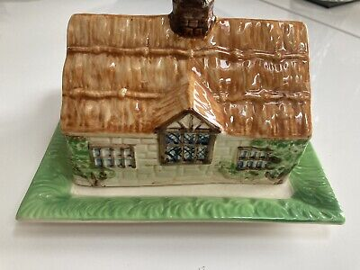 Beswick Ware Cottage, House Cheese, Butter Dish - Vintage 1930s Model 251. • 11£