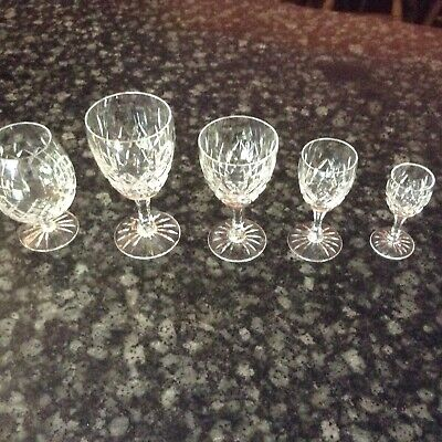 Royal Brierley Crystal Glass Collection • 150£