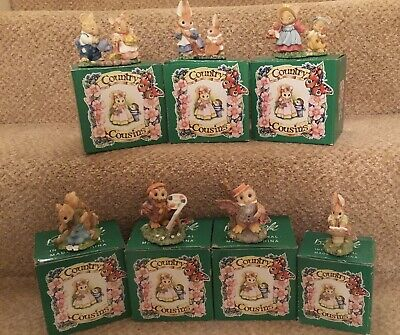 Beswick Country Cousins:  Seven Boxed Figures - 1994 • 40£