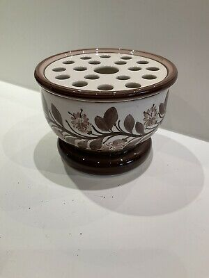 Vintage Jersey Pottery Posy Bowl In Excellent Condition • 6£