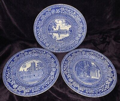 Wedgwood Princeton Plates Graduate College, Clio Whig Halls, Holder Court Tower • 150£