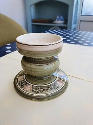 Jersey Pottery Candle Holder, • 7£
