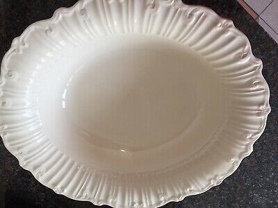 "Royal Creamware Footed  Bowl..suitable For Serving Salads Of Vegetables 13"" • 17£"