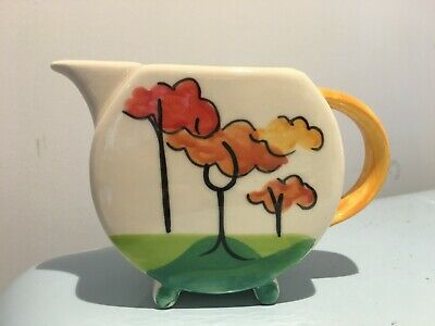 Past Times - Clarice Cliff  Coral Firs  Style Milk Jug  • 20.01£
