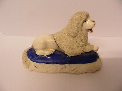 Staffordshire Recumbent Poodle Dog • 4.99£