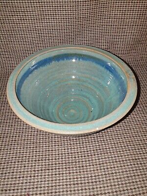 Hand Thrown Bowl. Glazed And Signed Louis Mulcahy Ireland . • 10£