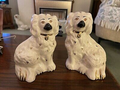 Pair Of Vintage Royal Doulton Spaniels • 19.99£