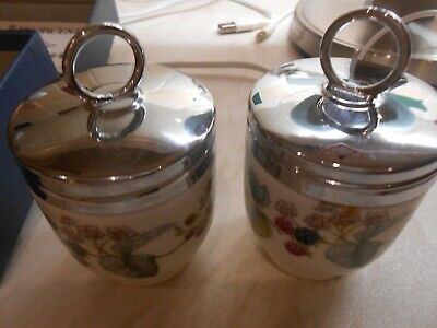 Royal Worcester Blackberries Small Egg Coddlers X 2 In Box • 15£