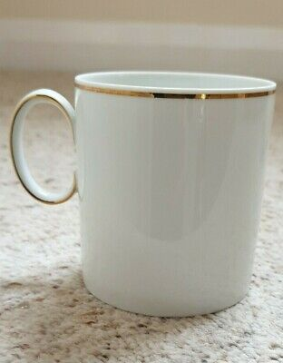 Thomas Fine China White With Thin Gold Band Cup • 2.50£
