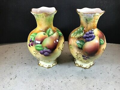 Pair Of Brookdale Vases Signed By J Mottram In Excellent Condition  • 39£