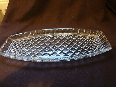 Vintage Glass Dish/Tray • 2£