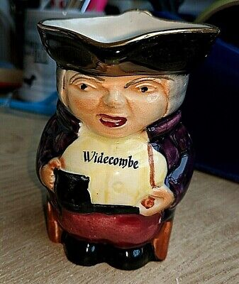 Vintage Genuine Hand Painted Staffordshire Toby Jug No 491 Shorter And Sons Ltd • 5.50£