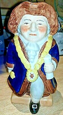 """LORD MAYOR Handpainted Pottery Shorter & Sons Toby Jug 6.75"""" Excellent Condition • 5.50£"""