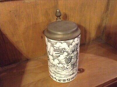 Alboth And Kaiser Beer Stein Bavaria 1541 Beautiful Collectors Item In Vgc • 40£