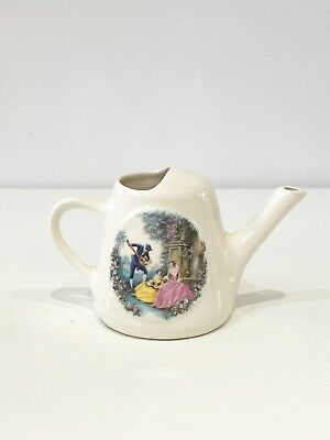 Brixham  Pottery Miniature Watering Can With Victorian Serenade Design • 7.99£