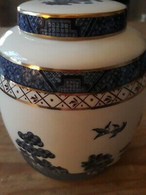 Royal Doulton Booths Real Old Willow Ginger Jar • 1.50£