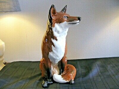 Beswick Fireside Fox  By Graham Tongue  Model 2348 - Excellent Condition • 225£
