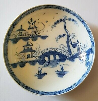 Caughley Saucer C.1785 • 57£