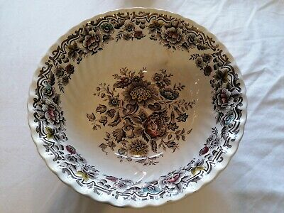HAND ENGRAVED - GREAT CONDITION - Large Bowl Ridgway Staffordshire 'Clifton'  • 12.99£