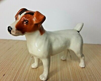 Vintage Beswick England Brown And White Jack Russell Terrier Dog Figurine • 21.94£