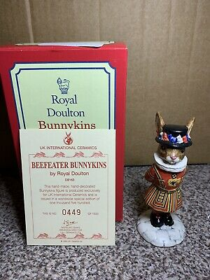 Bunnykins Beefeater Db163 Special Edition 449/1500 - Royal Doulton • 50£