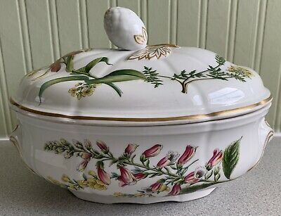 Spode Stafford Flowers Tureen And Lid • 75£