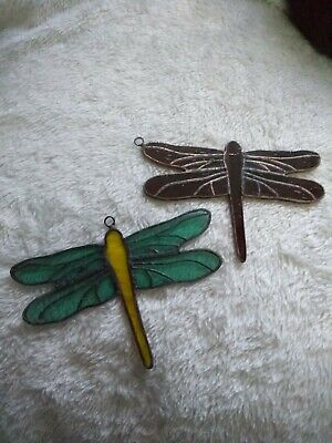 Stained Glass Dragonfly • 25£