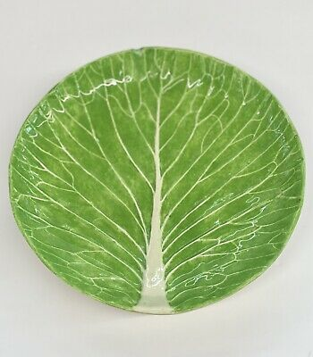 "Dodie Thayer 8"" Lettuce Ware Plate - Has Chip - See Pics! • 203.94£"