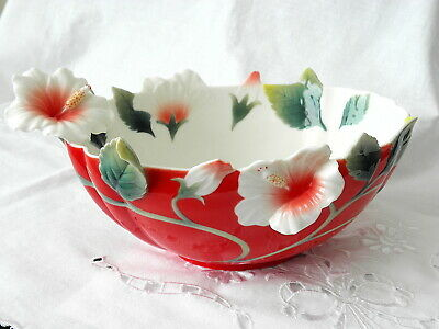 Franz Porcelain Collection ~ Island Beauty Small Bowl ~ Fz01625 ~ Rare • 94.99£