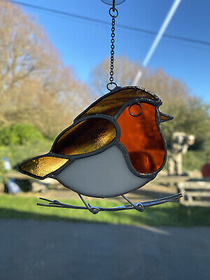 Stained Glass Robin • 20£