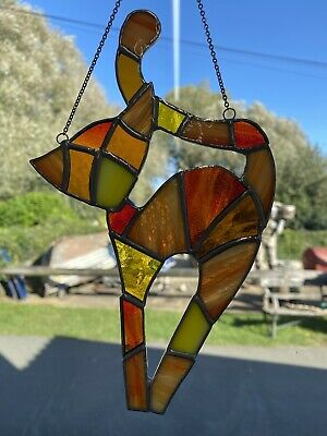 Stained Glass Cat • 38£