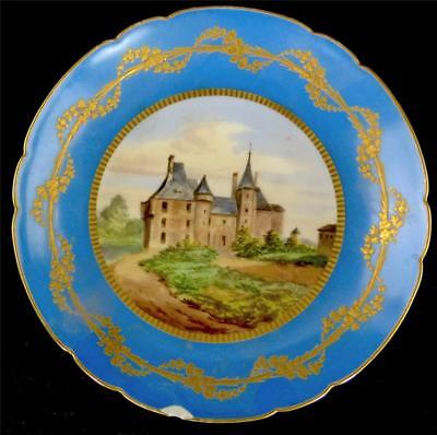Antique 19th Century French Sevres Style Porcelain Comport Plate • 99.99£