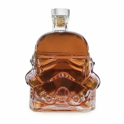 Star Wars Stormtrooper Glass Drinks Decanter Whisky Sherry Liquer • 14.99£