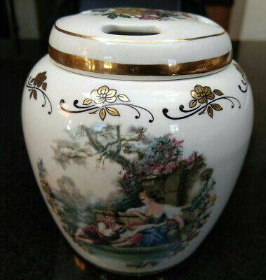 Beautiful Lord Nelson Pottery Hand Crafted Pot Pourri Jar - VGC • 8.89£