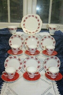 Vintage 1970s Sutherland 21 Piece China  Tea Set C 1970's (2) • 26£