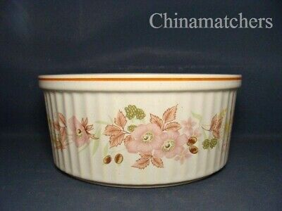 Boots Hedge Rose 7 1/2  Fluted Souffle Dish, In VGC • 15£