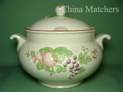 Boots Orchard 5 Pint Lidded Soup Tureen, In VGC • 22£