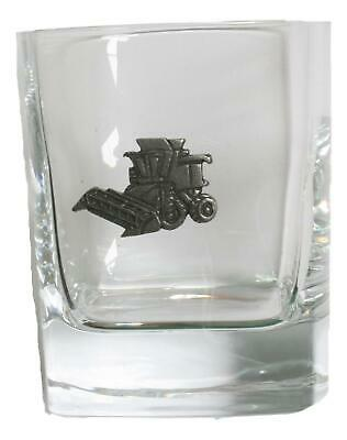 Combine Pair Of Crystal Tumblers Pewter Motift Presentation Box 449 • 34.99£
