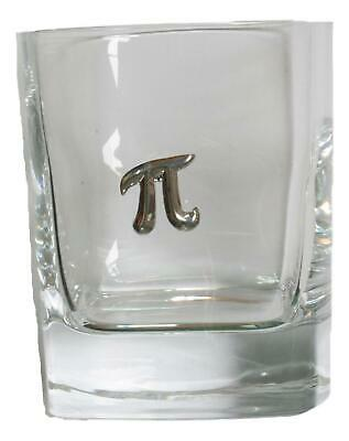 Pi Pair Of Crystal Tumblers Pewter Motift Presentation Box 454 • 34.99£