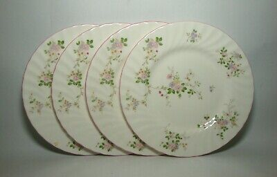 4 X MARKS & SPENCER MELROSE 8  SALAD PLATES IN VERY GOOD CONDITION • 18.50£