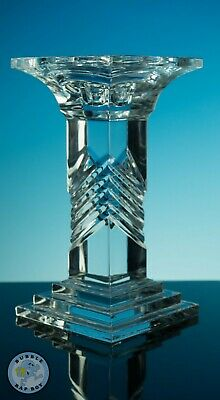 Lead Crystal Candlestick Shabby Chic Interior Design • 13.99£