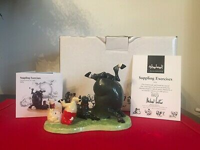 ROYAL DOULTON Thelwell Pony SUPPLING EXERCISES Boxed + Cert NT6 • 110£
