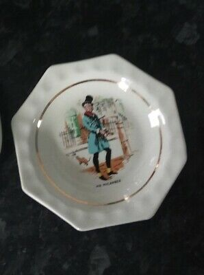 Wade Vintage Pottery- Charles Dickens Mr Micawber Character Tray • 5.50£