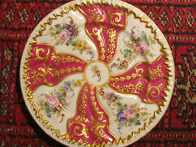 Very Fine Sevres Porcellaine Plate - Rich Gilding, 20th C. • 135£