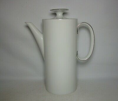 Thomas Thin Platinum Band 2 Pint Coffee Pot In Very Good Condition • 16.50£