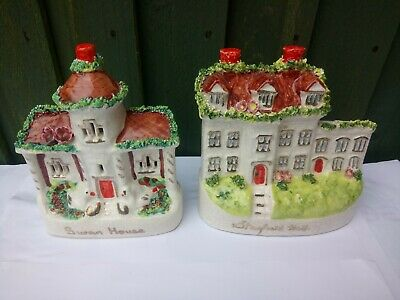 Staffordshire Flat Back Cottages X2 Stanfield Hall/ Swan House  • 24£