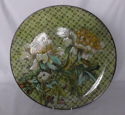 Victorian Doulton Lambeth Faience Charger Dates 1878 - 1881 By Fanny Stable • 395£