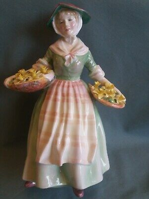 Royal Doulton Figure  Daffy Down Dilly  HN1712 Issued 1935-1975 • 35£