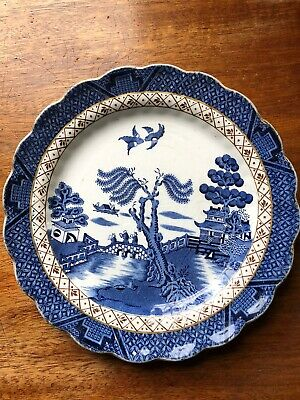 Booths Real Old Willow Plate • 20£