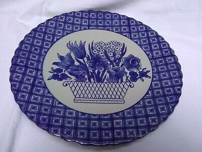 Chinese Blue & White Decorative Plate. • 0.99£